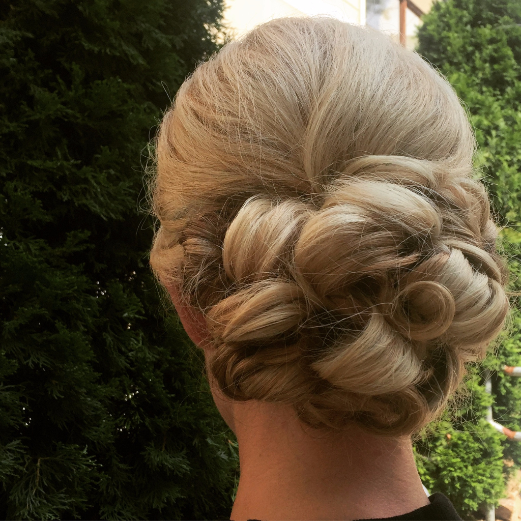 Bridal Hair Asheville WNC Will Travel